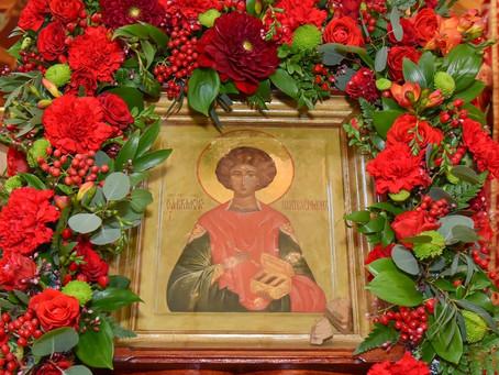 Престольный праздник в Пантелеимоновском храме г. Пушкино. Фотоотчет