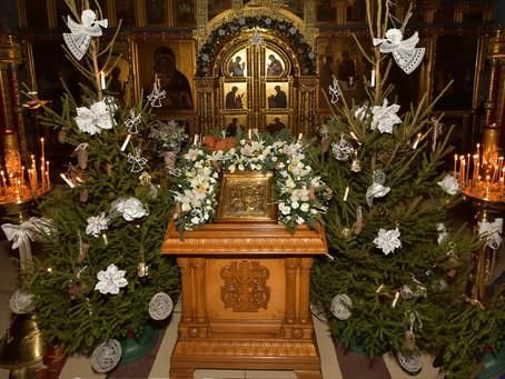 Праздник Рождества Христова в нашем храме
