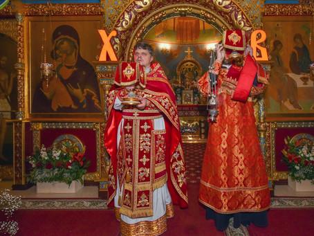 Пасха Христова в Троицком храме г. Пушкино.