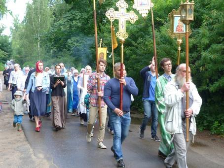 Праздничное Богослужение в Спасском храме мкр. Клязьма