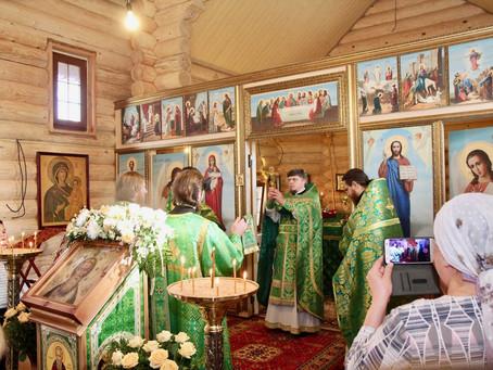 Престольный праздник в Сергиевском храме дер. Костино