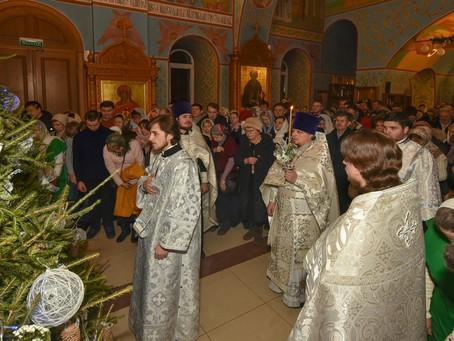 Рождество Христово в Пушкинском благочинии.