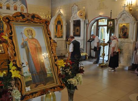 Праздник равноапостольного князя Владимира в посёлке Ашукино