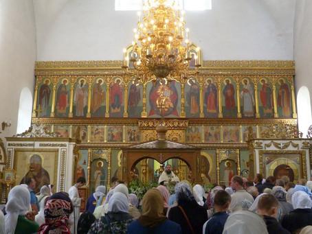 Престольный праздник в Спасском храме мкр. Клязьма