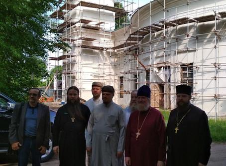 Рабочее совещание по восстановлению Знаменского храма с. Ивановского Волоколамского р-на