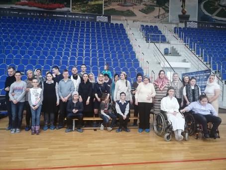 Соборование в спортивной секции восточных единоборств с ограниченными возможностями здоровья