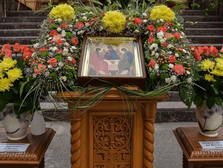 Приглашаем на престольный праздник в Троицкий храм Пушкино