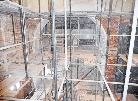 Восстановление Знаменского храма с. Ивановское Волоколамского р-на. Февраль 2020
