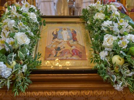 Преображение Господне в Троицком храме г. Пушкино