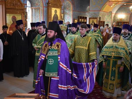 Соборное Богослужение в Троицком храме г. Пушкино