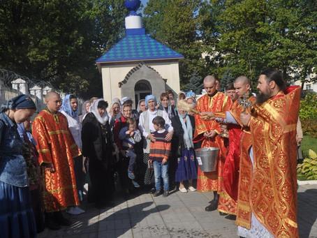 Престольный праздник в храме благоверного князя Александра Невского Софринской бригады