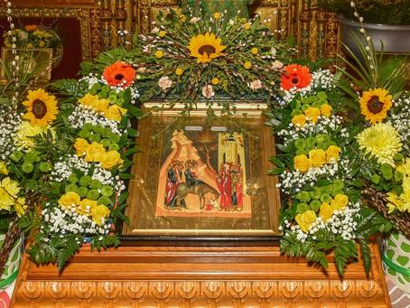 Празднование Входа Господня в Иерусалим в Троицком храме г. Пушкино. Фотоотчет.