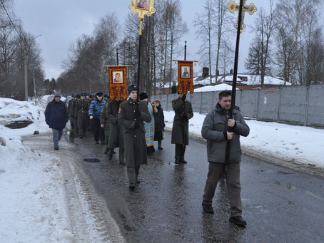 В пос. Ашукино почтили память последнего Героя Советского Союза Олега Бабака