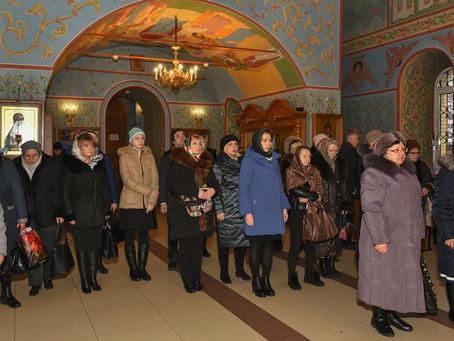 Открытие Рождественских чтений в Троицком храме г. Пушкино