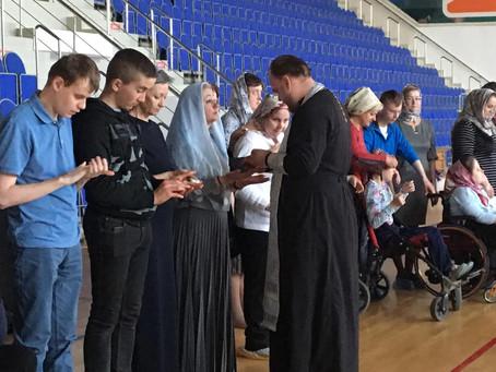 Соборование в спортивной секции восточных единоборств  для детей с ограниченными возможностями здоро