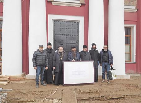 Восстановление Знаменского храма с. Ивановское Волоколамского р-на. Май 2020