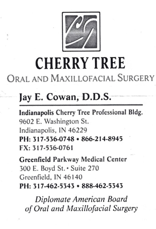 Cherry Tree Oral