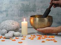 image zen yoga bol tibétain
