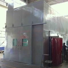 Deburring Area : Noise Enclosure