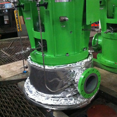 ARK NoiseLAG for Submersible Pump Distributor Casing