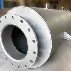 V16 - 4MW - Engine Silencer