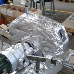 ARK HeatLAG for Small Single-Stage Steam Turbine