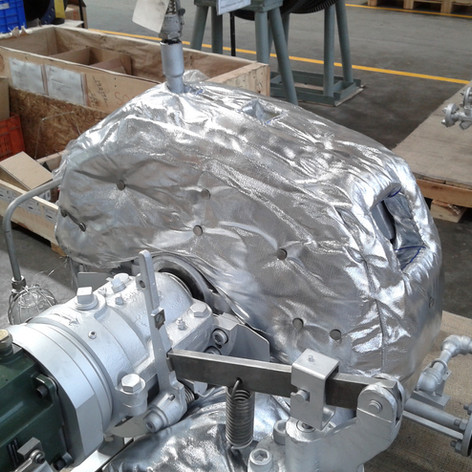 ARK HeatLAG for Small Single-Stage Steam Turbine