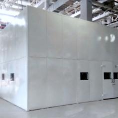 Acoustic Enclosure for Vibrations Testing Machine