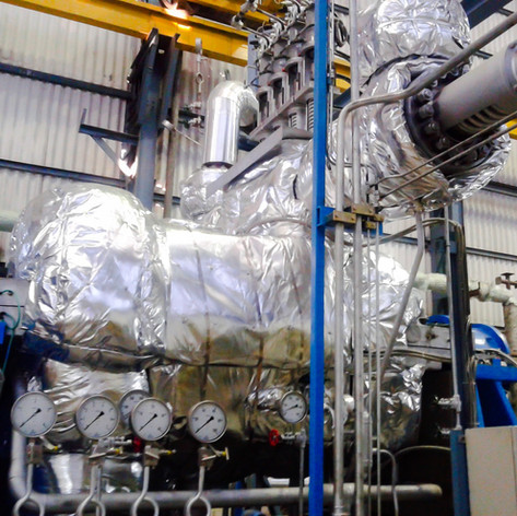 ARK HeatLAG for a 12 MW Steam Turbine
