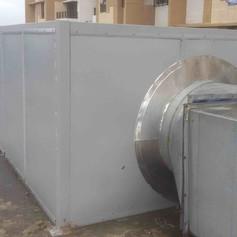 Air Blower : Noise Enclosure