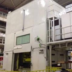 200 Ton Mechanical Press : Noise Enclosure