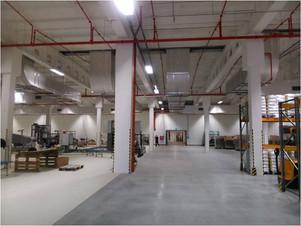 Packaging and palletization warehouse, Czech Republic
