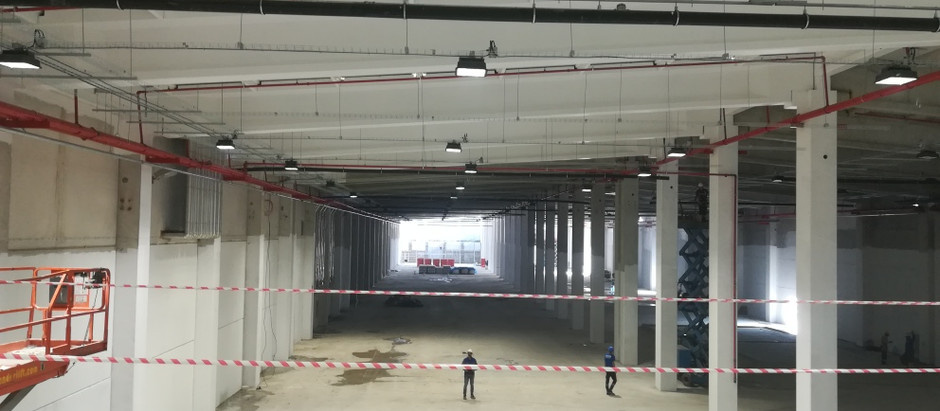Expansion warehouse Turkey, wind and watertight