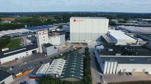 Frozen high-bay warehouse, Belgium