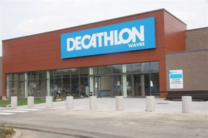 Decathlon store Wavre
