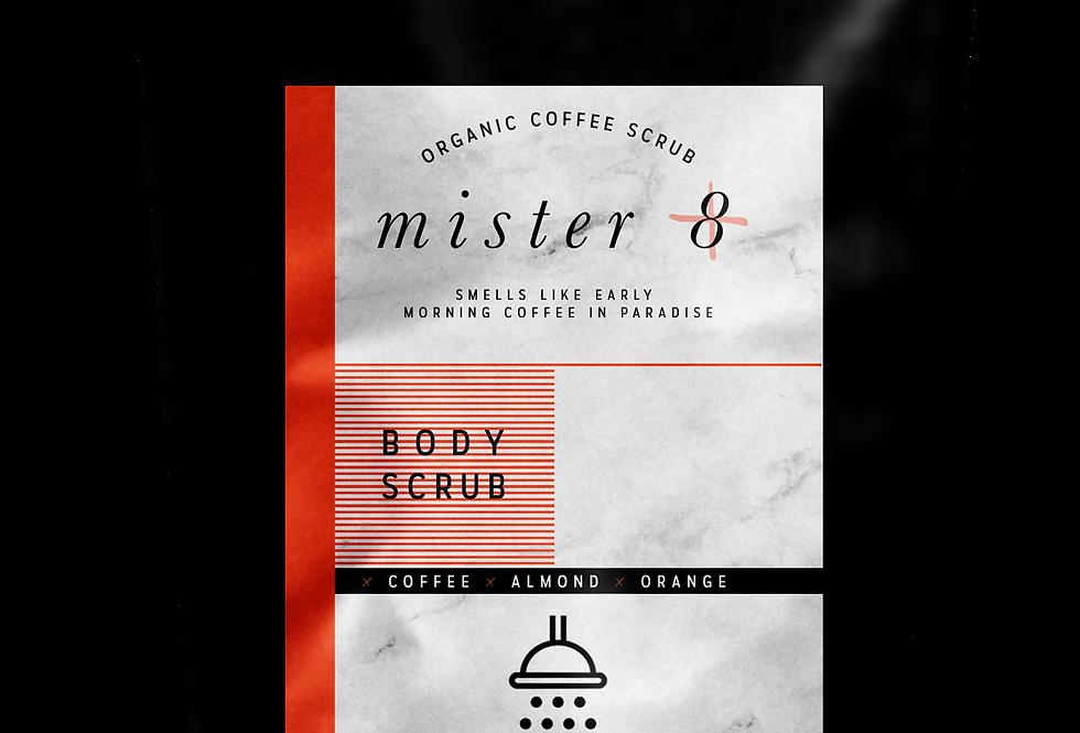 Mister 8 | Organic Coffee Scrub