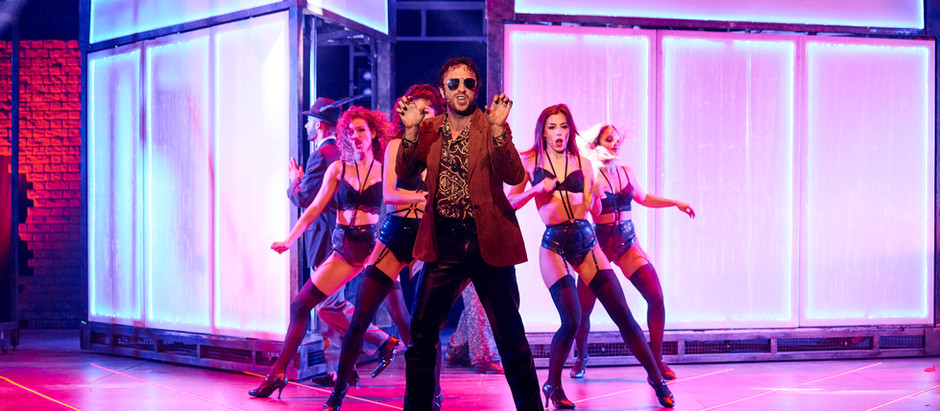 "Miguel Ramiro en ""Flashdance"""