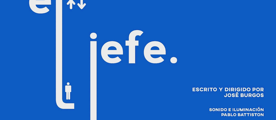 """EL JEFE"" EN TEATROS LUCHANA"