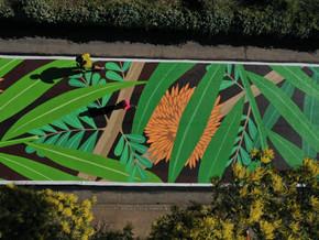 ARTE  Y NATURALEZA   PARQUE METROPOLITANO DE SANTIAGO - Chile