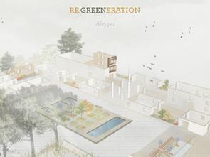 RE.GREENERATION: Un lugar de transición entre el pasado, presente y futuro de Alepo, Siria. Concurso
