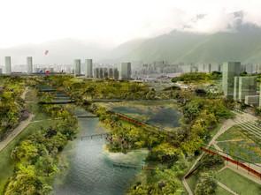 PARQUE VERDE METROPOLITANO LA CARLOTA -  Reintegración natural y social de Caracas | OPUS + Manuel D