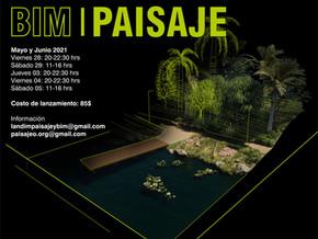 WORKSHOP BIM - PAISAJE | Aplicación de la metodología BIM en proyectos de paisaje