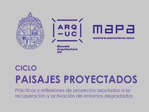 CICLO PAISAJES PROYECTADOS   MAPA - UC