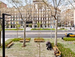 INTERVENCION EN EL PAISAJE: PASEO DE ST JOAN | BARCELONA