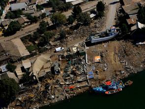 LA REPRESENTACIÓN DEL PAISAJE DEL DESASTRE - Constitución Chile   IMAGINARIOS
