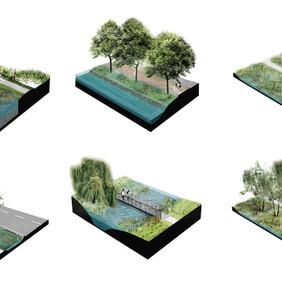 LA LINEA DEL AGUA - Infraestructura de paisaje para la resiliencia urbana ante extremos hídricos