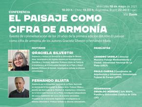 CONFERENCIA | EL PAISAJE COMO CIFRA DE ARMONÍA | Graciela Silvestri + Fernando Aliata | MAPA UC