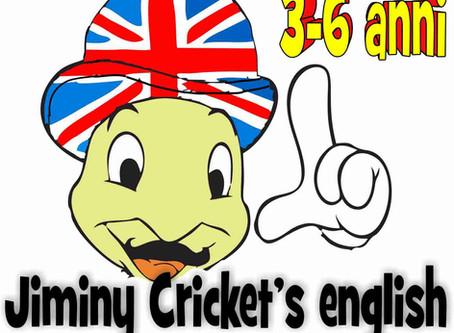 Jiminy Cricket's english   Corsi 3-6 anni