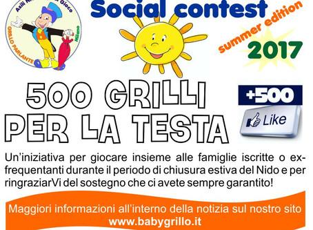 Summer social contest