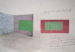 L'épaisseur du mur